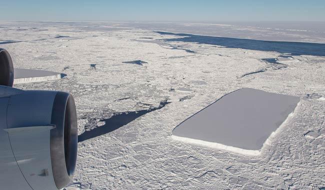 iceberg perfettamente rettangolare non e perfetto