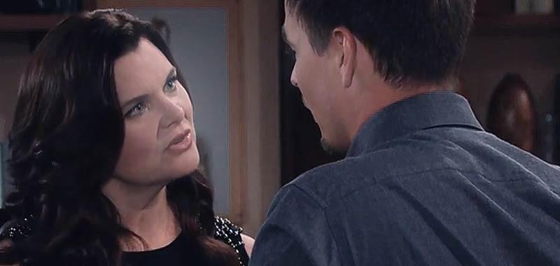 Beautiful anticipazioni Bill minaccia Katie