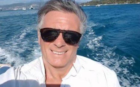 Giorgio Manetti il gabbiano si prepara per l'isola dei famosi