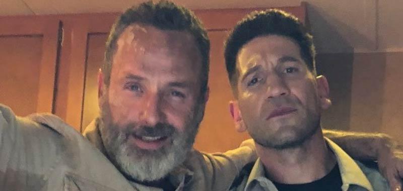 The Walking Dead Jon Bernthale condivide la reunion con Andrew Lincoln