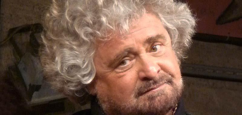 Beppe Grillo lancia idea del sussidio europeo
