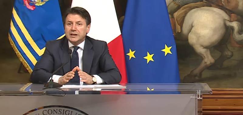 Il Premier Conte continua a chiudere Italia