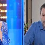 Matteo Salvini prega in diretta nazionale a Live-Non è la D'Urso