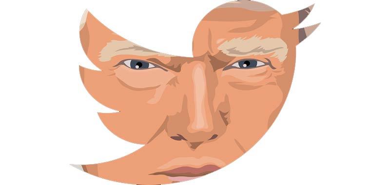 guerra aperta tra Trump e Twitter
