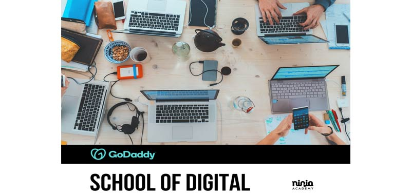 GoDaddy School of Digital al via la scuola del digitale