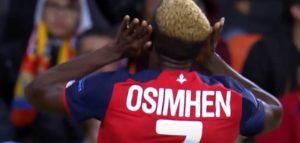 Osimhen si prepara a diventare un giocatore del Napoli