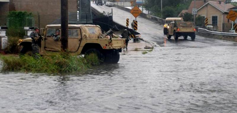 Louisiana terrorizzata da uragano Laura
